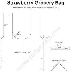 strawberry-grocery-bag-pattern