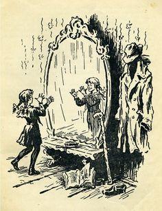 В.Губарев. КОРОЛЕВСТВО КРИВЫХ ЗЕРКАЛ. (изд.Молодая гвардия, 1956 год, илл.Б.Калаушина)