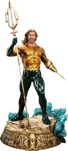 DC Comics Aquaman Premium Format(TM) Figure by Sideshow Coll | Sideshow Collectibles
