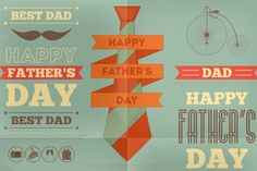 Father's Day by elfivetrov on Creative Market