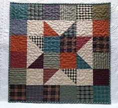 Image result for star quilt pattern using homespun