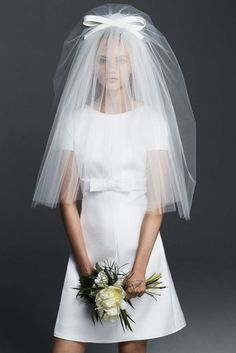 60's Style Wedding Dress // Max Mara Bridal 2016 #weddingdress #bride