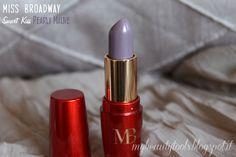 Miss Broadway Smart Kiss Lipstick | Pearly Mauve #missbroadway #bewe #lipstick #redlipstick #red #rouge #pearlymauve #mauve #mauvelipstick #makeup #beauty #levres #lips #beautyblog #beautyblogger #mybeautytools #LaCocci #beautyreview  http://mybeautytools.blogspot.com/2015/01/miss-broadway-smart-kiss.html