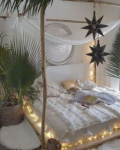 23 the best white master bedroom design and decoration ideas 4 Bohemian Bedroom Diy, Cozy Bedroom, Bedroom Ideas, Bohemian Decor, Bohemian Design, Bohemian Style, Master Bedroom Design, Bedroom Designs, Master Suite