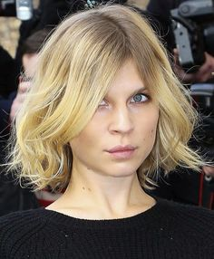clemence poesy hair - Google Search
