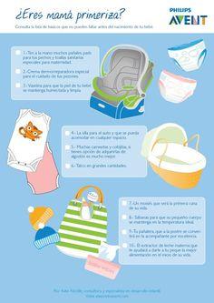 ¿Eres mamá primeriza? Os presentamos unos básicos que no podrán faltar para dar la bienvenida a tu #bebé ;) Feliz Miércoles ;) #embarazadas #mamás #papás #familias