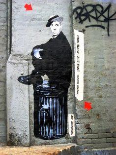 JEF AEROSOL_FRENCH ARTIST http://restreet.altervista.org/i-ritratti-iconici-di-jef-aerosol/
