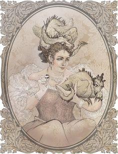 Sybil Ramkin by ZarKir.deviantart.com on @DeviantArt