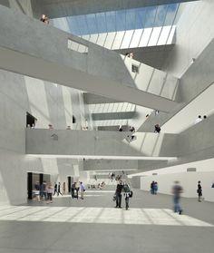 Bernard Tschumi Presents Final Design for Grottammare Cultural Center | ArchDaily