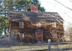 The Jacob and Abigail Strong House, Connecticut - 1698