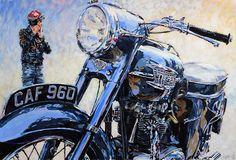 motorcycle artwork | Motorcycle Art