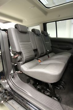 Wheelchair Accessible Ford Connect, Foldable Seats