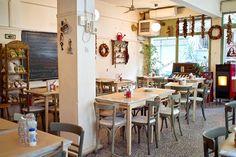 Πέντε ωραίες ιστορίες στην Άνω Πόλη Thessaloniki, Greece Travel, Old And New, Table Settings, Furniture, Uber, Homeland, Traveling, Home Decor