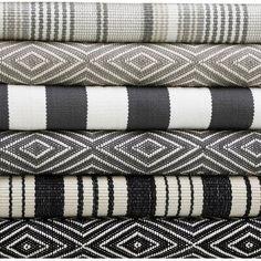 Patio Tiles, Dash And Albert, Geometric Rug, Indoor Outdoor Area Rugs, Outdoor Living, Rug Sale, Textiles, E Design, Design Trends