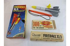 Fireball XL5 Space Ship 1962 by Quercetti