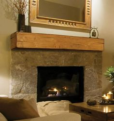 Pearl Mantels: Lexington Shelf