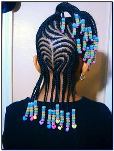 Little Girls Hair Styles With Beads - Kids' Hair : Hairstyles ...