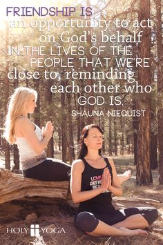 May your faith inspire your friendships and friendships inspire your friends. #holyyoga #yoga #faith
