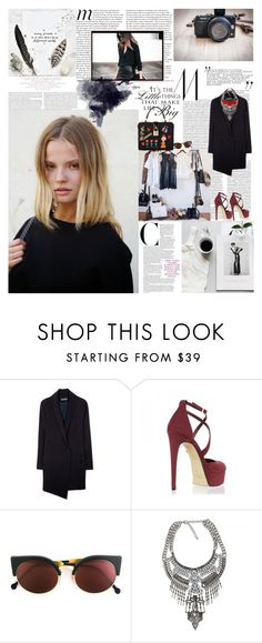 """""""The best way to find out if you can trust somebody is to trust them. by Ernest Hemingway"""" by valentina-back ❤ liked on Polyvore featuring Elle, Miu Miu, JEM, RetroSuperFuture and Fiona Paxton"""