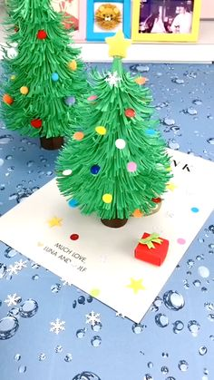 Christmas Paper Crafts, Christmas Activities, Diy Christmas Gifts, Christmas Art, Holiday Crafts, Christmas Decoration Crafts, Preschool Crafts, Fun Crafts, Hand Crafts For Kids