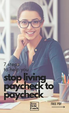 Living paycheck to paycheck is a straight up nightmare. I remember my days in that cycle and I remember how mentally exhausted I was, ALL THE TIME. When I discovered these 7 steps and implemented them, I was able to get out of the cycle AND pay down $43,000 in debt. If I can do it, so can you.