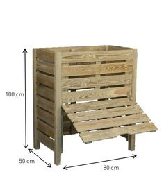 Fabriquer son composteur, c'est facile Make your composter from a pallet and roasting chicken How to build a fauHow to make a table bHow to make a bar Organic Compost, Organic Gardening, Outdoor Chairs, Outdoor Furniture, Outdoor Decor, Diy Jardim, Faire Son Compost, Vegetable Shop, Yard Waste