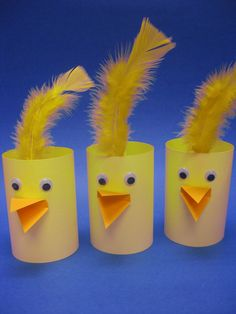 Another cute craft idea featured at our Easter Paper Craft program!