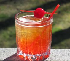 """Recipe from: hamptonroadshappyhour Image Credit: hamptonroadshappyhour Pixy Stix """"The classic sweet and sour powdered candy gro. Milk Shakes, Liquor Drinks, Non Alcoholic Drinks, Southern Comfort Drinks, Pixy Stix, Italian Cream Soda, Drinks Alcohol Recipes, Summer Drinks, Mixed Drinks"""
