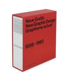Neue Grafik/New Graphic Design Graphisme actual, 1958–1965. Faksimile-Reprint at Lars Müller Publishers