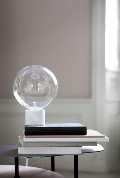 Marmor/Tischlampe