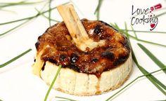 Camembert gratinado con azúcar moreno #receta