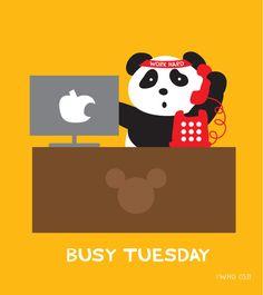 Tuesday is always a hard working day BoredPanda