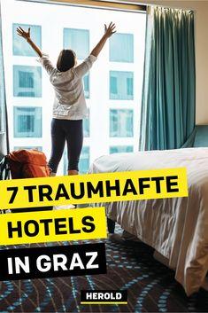 Wo kann man in Graz gemütlich übernachten? Wir haben für dich die besten Hotels in Graz ausfindig gemacht. #graz