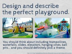 Writing prompt - perfect playground