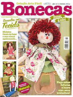 Artesanato - Bonecas : COL ARTE FACIL BONECAS 011 - Editora Minuano