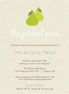 stylish twins baby shower invitations purpletrail blog invitations related news trends u0026 creative