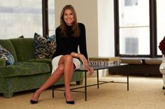 """Inside Aerin Lauder's Beautiful Life & Office #refinery29  http://www.refinery29.com/aerin-lauder#slide-4  The Lauder brand is quite literally in your DNA. How does that translate into Aerin, the brand?  """"It's very much my heritage, and a lot of parts of this brand are inspired by heritage, storytelling, and Estée Lauder as a beauty icon and the ideas that she passed onto me. And then, there's also an element that's completely me, in the sense of the casualness of it. Yes, it's gold, which…"""