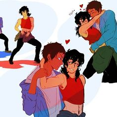 Image result for klance dance au