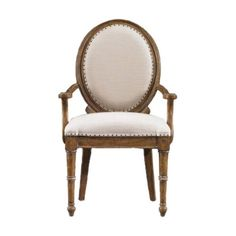 I pinned this Stanley Furniture Farmhouse Hostess Chair in Blond from the Design Detail: Nailhead Trim event at Joss and Main!