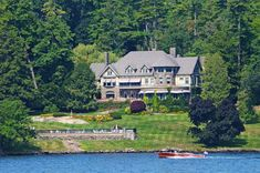 $13M Tudor Revival Mansion on Lake George Has Historic Connection to Brooklyn | 6sqft