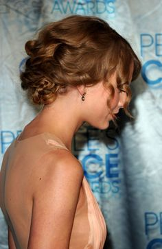 hair side view