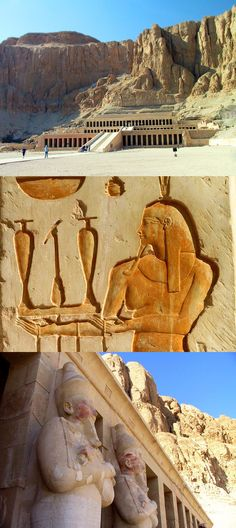 The Temple of Hatshepsut, Egypt Cleopatra, Travel Photos, Mount Rushmore, Egypt, Temple, Memories, Mountains, Cool Stuff, Places