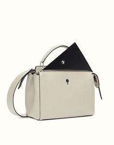 Fendi PEEKABOO Black Bags Bug Peekaboo Calfskin Handbag with ...