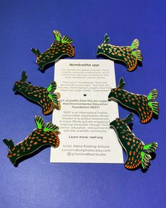 Nembrotha Wildlife Conservation Pin