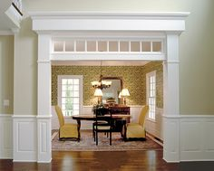 Flowers For Home Decoration Moldings And Trim, Moulding, Molding Ideas, Wood Molding, Crown Moldings, House Trim, Transom Windows, Craftsman Style, Craftsman Decor