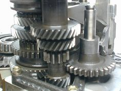 Straight spur gear #mecanihisms