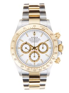 Rolex Two-Tone Daytona Watch, 40mm from Unique Estate Jewelry Finds on Gilt