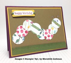 Meredith Liebman, card swap, Stampin' Up!