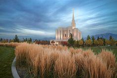 """Seasons Of Faith""  Oquirrh Mountain LDS Temple, Utah"