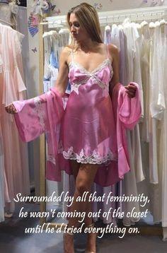 Femdom feminization lether cd